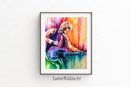 Last Dance - Watercolor